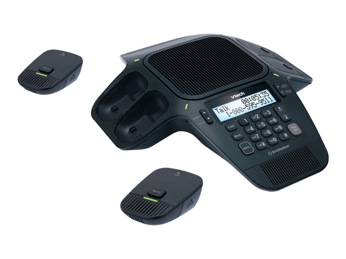 Vtech ErisStation™ Wireless Conference Phone with Orbitlink Technology, VCS704, 16779119, Audio/Video Conference Hardware