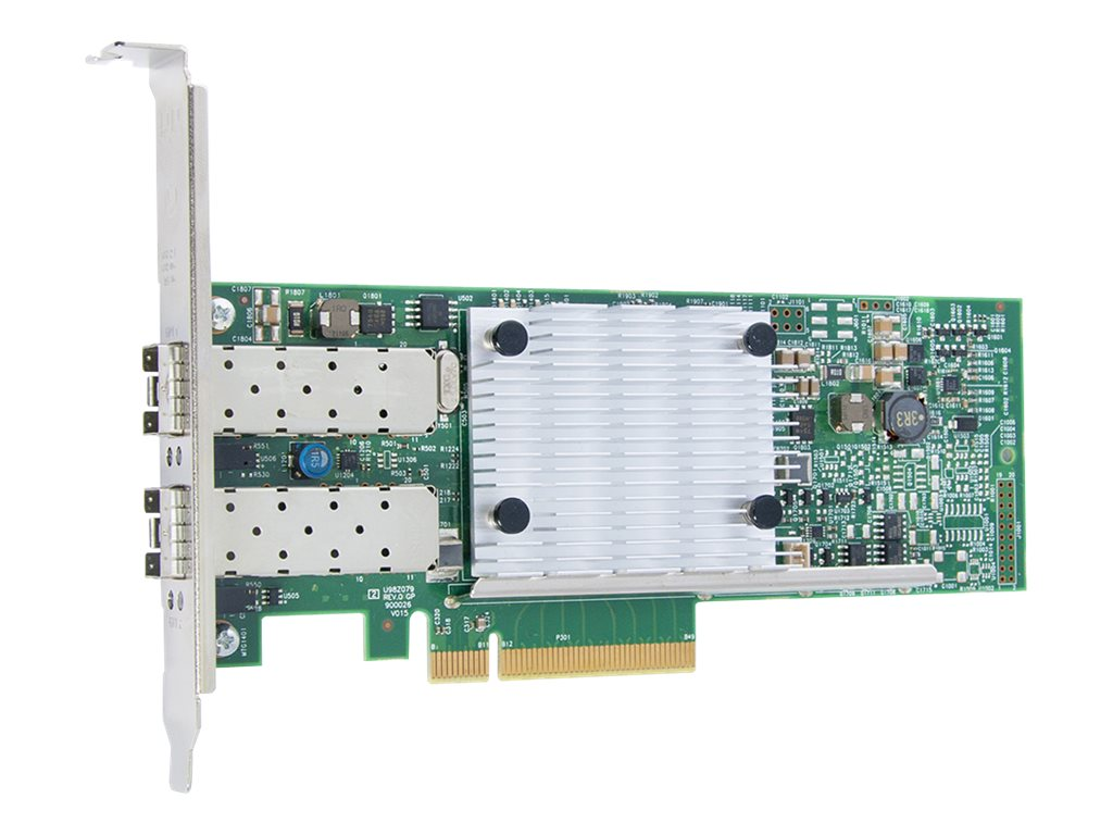 Qlogic 2-Port PCIe 3 to 10GbE SR Optics Adapter