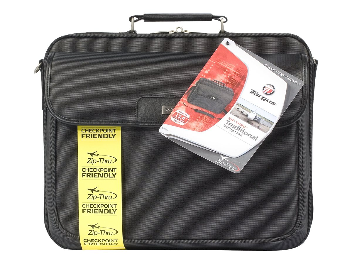 Targus Checkpoint-Friendly 16 Traditional Laptop Case, Black