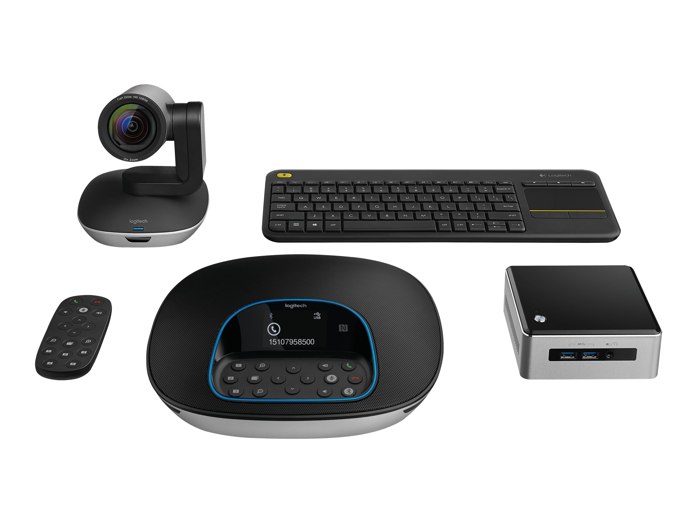 Logitech ConferenceCam Group Kit w NUC