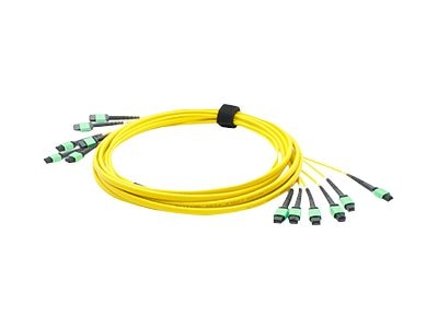 ACP-EP Fiber SMF Trunk 72 6MPO x 6MPO Female Type A OS1 Cable, 5m, ADD-TC-5M72-6MPF1