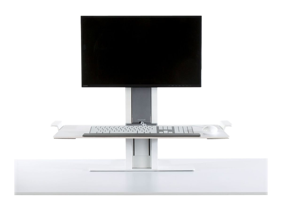 Humanscale QuickStand Light Mount, White, QSWL24, 24868154, Stands & Mounts - AV