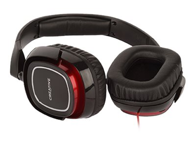 Creative Labs Draco HS880 Gaming Headset, 51EF0700AA001, 23950631, Headsets (w/ microphone)