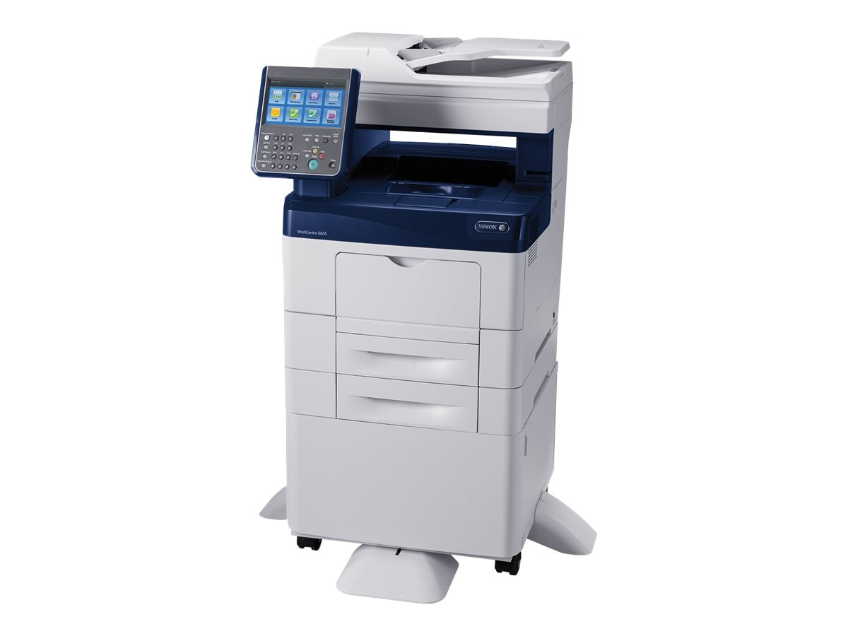 Xerox WorkCentre 6655 X Color Multifunction Printer, 6655/X, 17727804, MultiFunction - Laser (color)