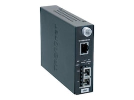 TRENDnet Fiber Converter RJ-45 To SC, TFC-110MSC, 430232, Network Transceivers