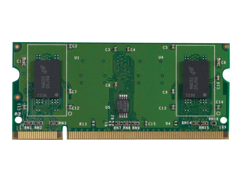 HP 512MB PC2-4200 200-pin DDR2 SDRAM SODIMM for Select LaserJet Enterprise Printers, CE467A, 10807094, Memory