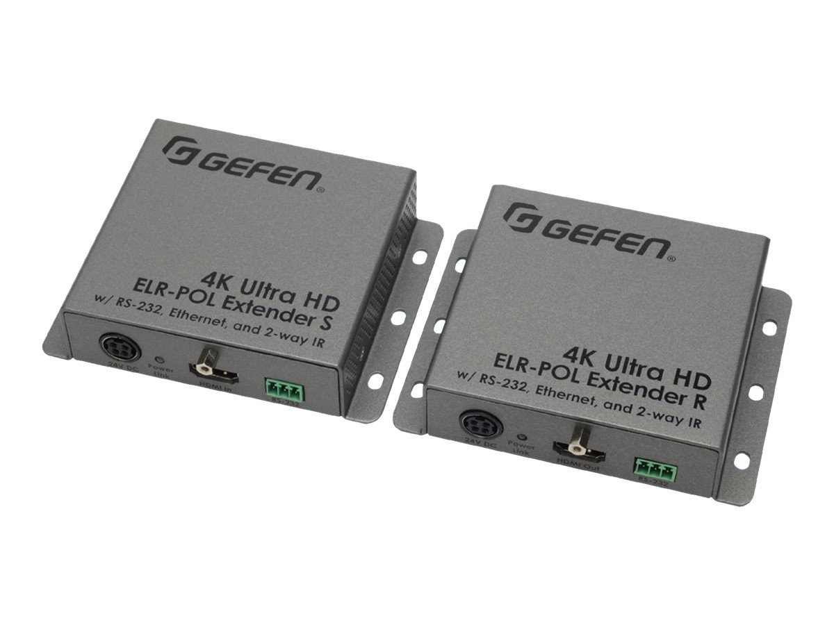 Gefen 4K Ultra HD ELR POL Extender, EXT-UHD-CAT5-ELRPOL, 17862547, Video Extenders & Splitters