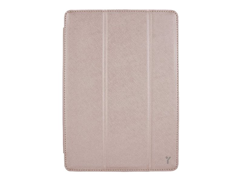 Joy Factory SmartSuit Case for iPad Air mini, Rose, CSE119G, 19250296, Carrying Cases - Tablets & eReaders