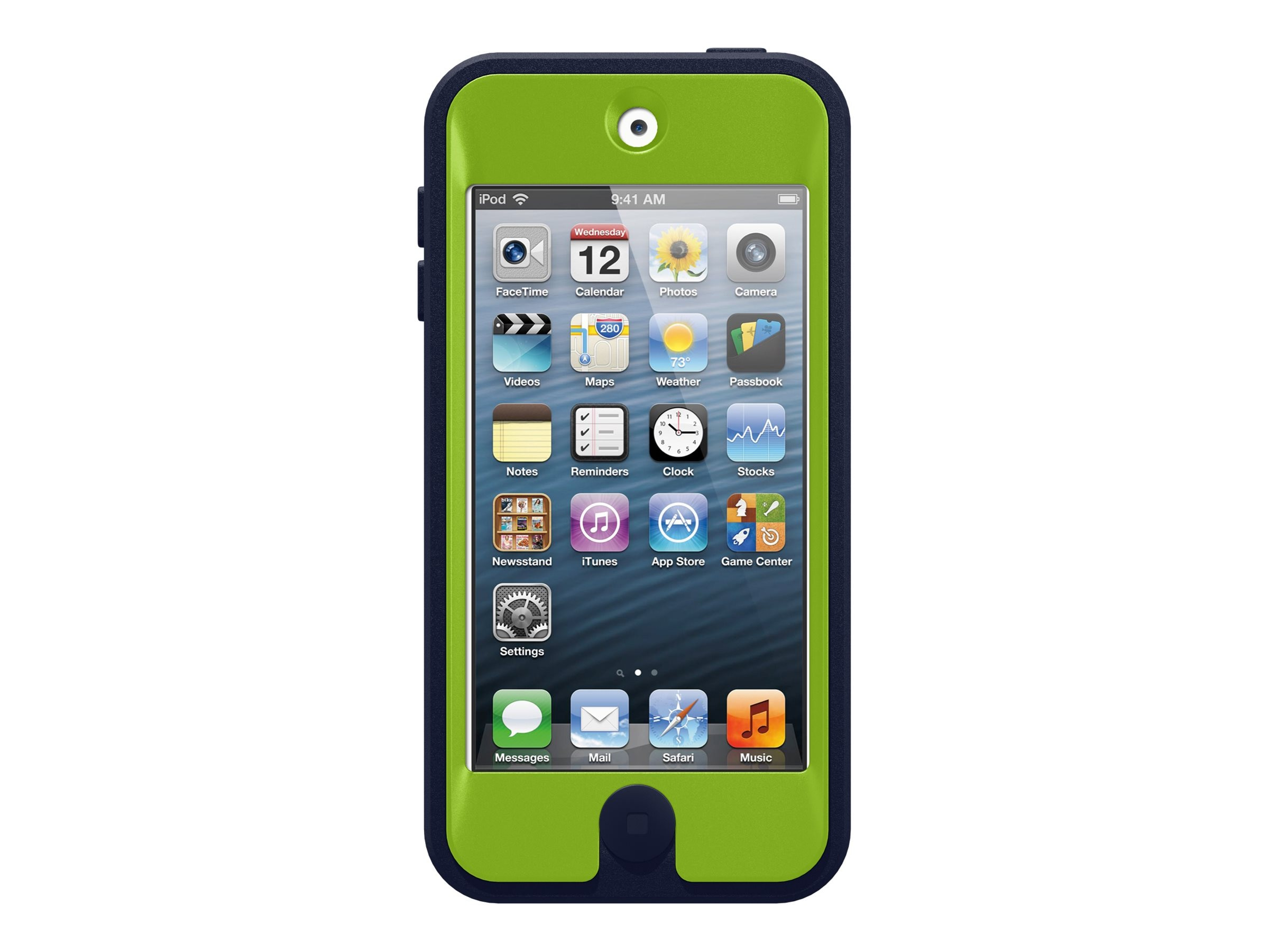 OtterBox Defender Case for iPod Touch 5g, Punk, 77-25219, 17248619, Carrying Cases - Phones/PDAs