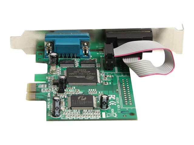 StarTech.com 2 Port PCI Express RS232 Serial Adapter Card with 16950 UART, PEX2S950