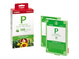 Canon E-P100 4 x 6 Easy Photo Pack for Canon Selphy ES1 Photo Printers, 1335B001, 7671317, Paper, Labels & Other Print Media