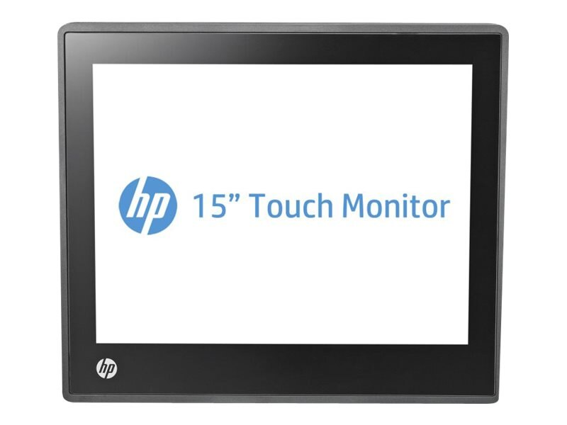 HP 15 L6015TM LED-LCD Touchscreen Monitor, Black, A1X78AA#ABA, 14783042, Monitors - LED-LCD