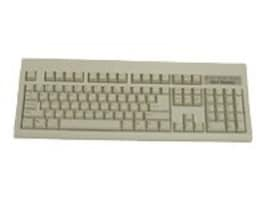 Keytronic PS 2 Keyboard - Beige, E06101P1, 7098418, Keyboards & Keypads