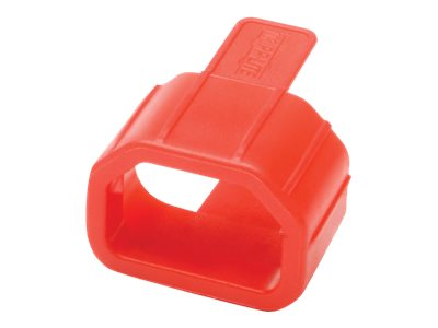 Tripp Lite Plug-Lock Inserts for C14 Power Cords , Red (100-pack), PLC13RD