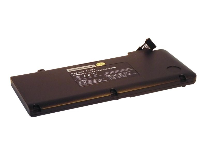 Ereplacements Battery, Li-Ion 10.8V 5400mAh 6-cell for Apple Macbook Pro 13 Unibody, 661-5229-ER, 13180127, Batteries - Notebook