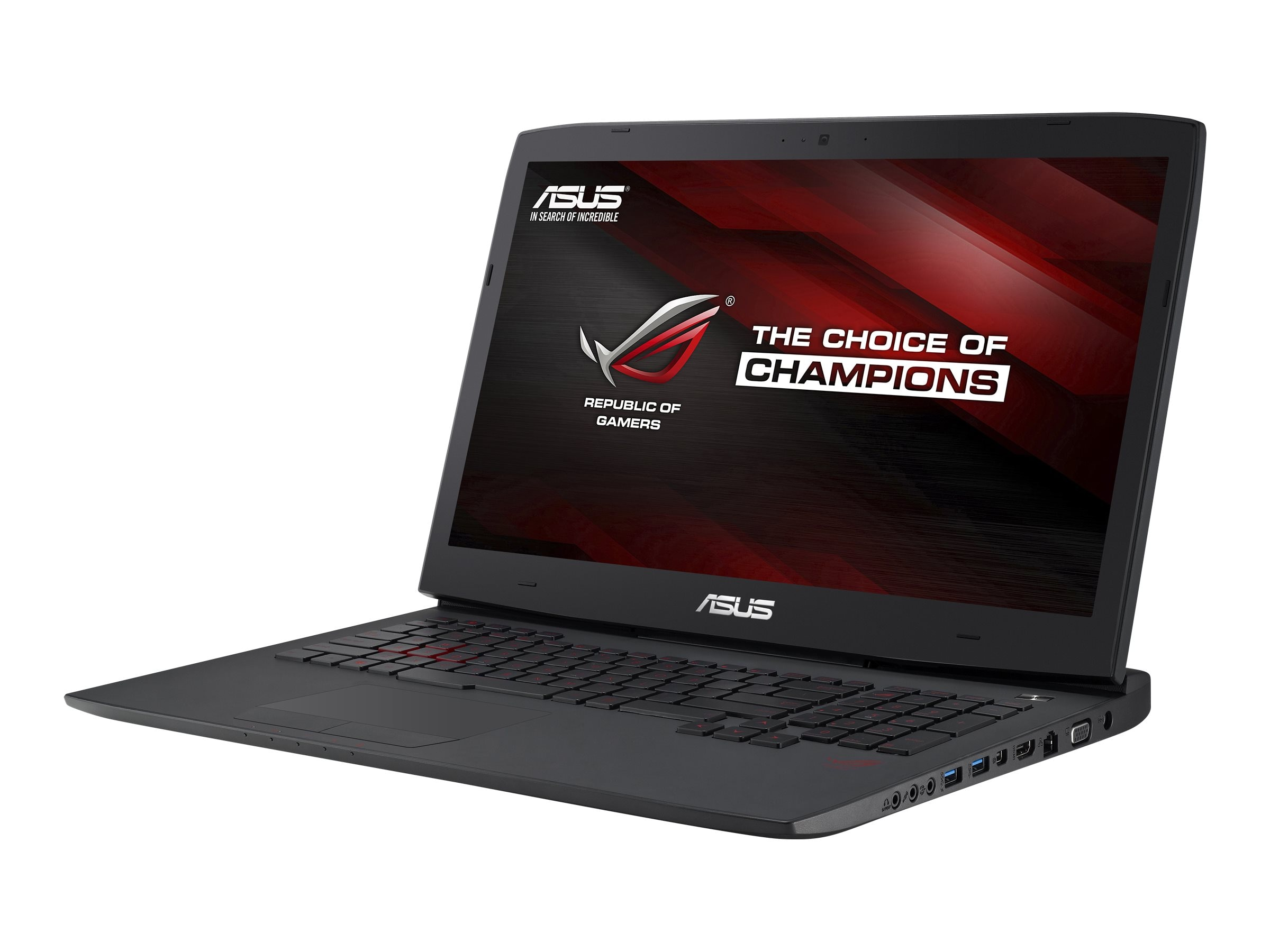 Asus G751JY-VS71(WX) Core i7-4710HQ 2.6GHz 16GB 1TB DVD-RW BT 17.3 W10