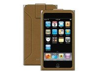 Belkin Eco-Conscious Leather Sleeve for iPod touch (2nd Gen), Walnut, F8Z369-WNT, 9086066, Protective & Dust Covers