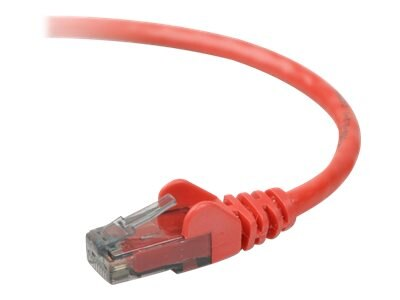 Belkin Cat6 UTP Patch Cable, Red, Snagless, 3ft, A3L980-03-RED-S