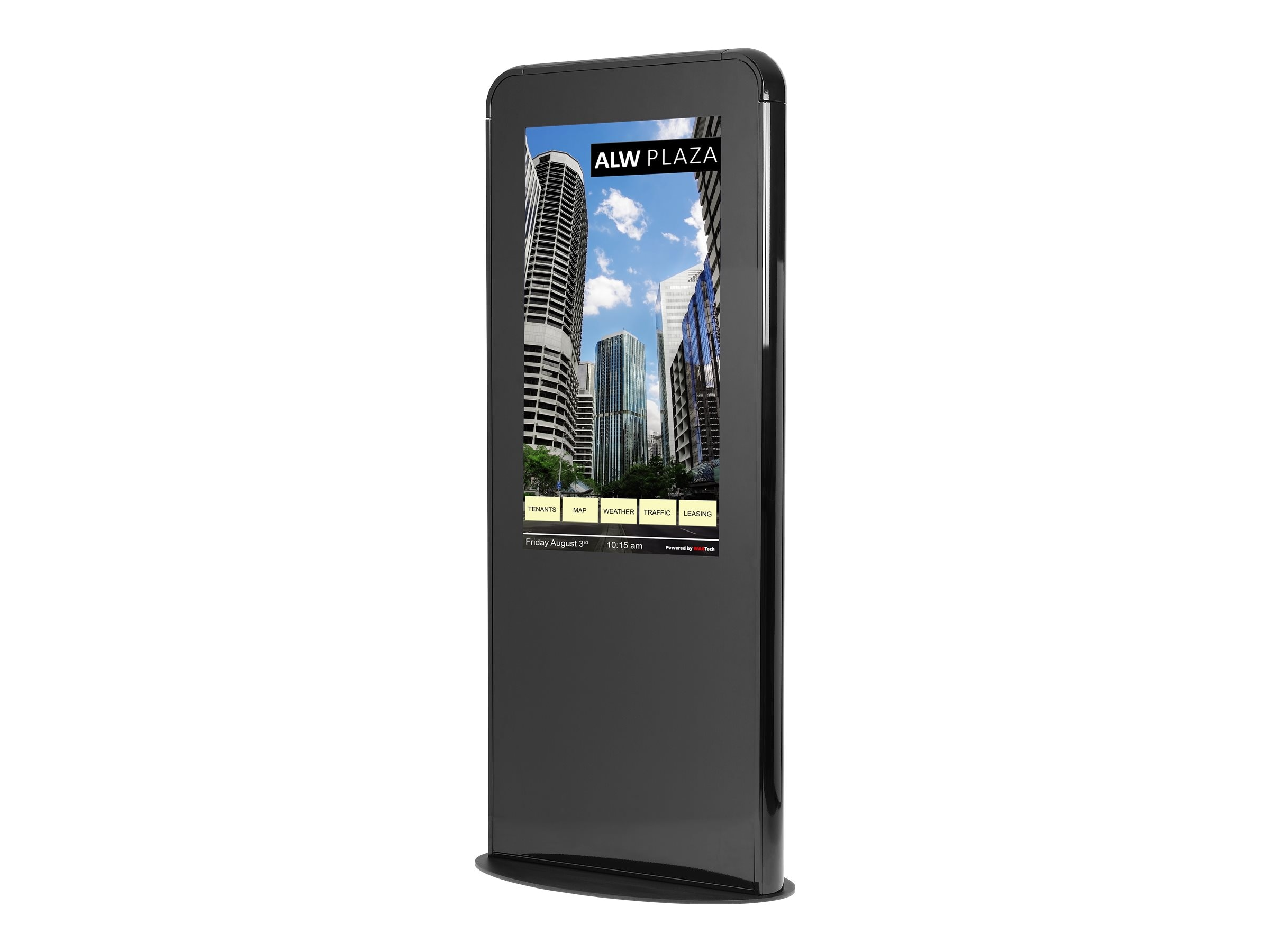 NEC 46 Full HD LED-LCD Touchscreen Portait Kiosk, Black, NEC-KIOSK-PORT-B