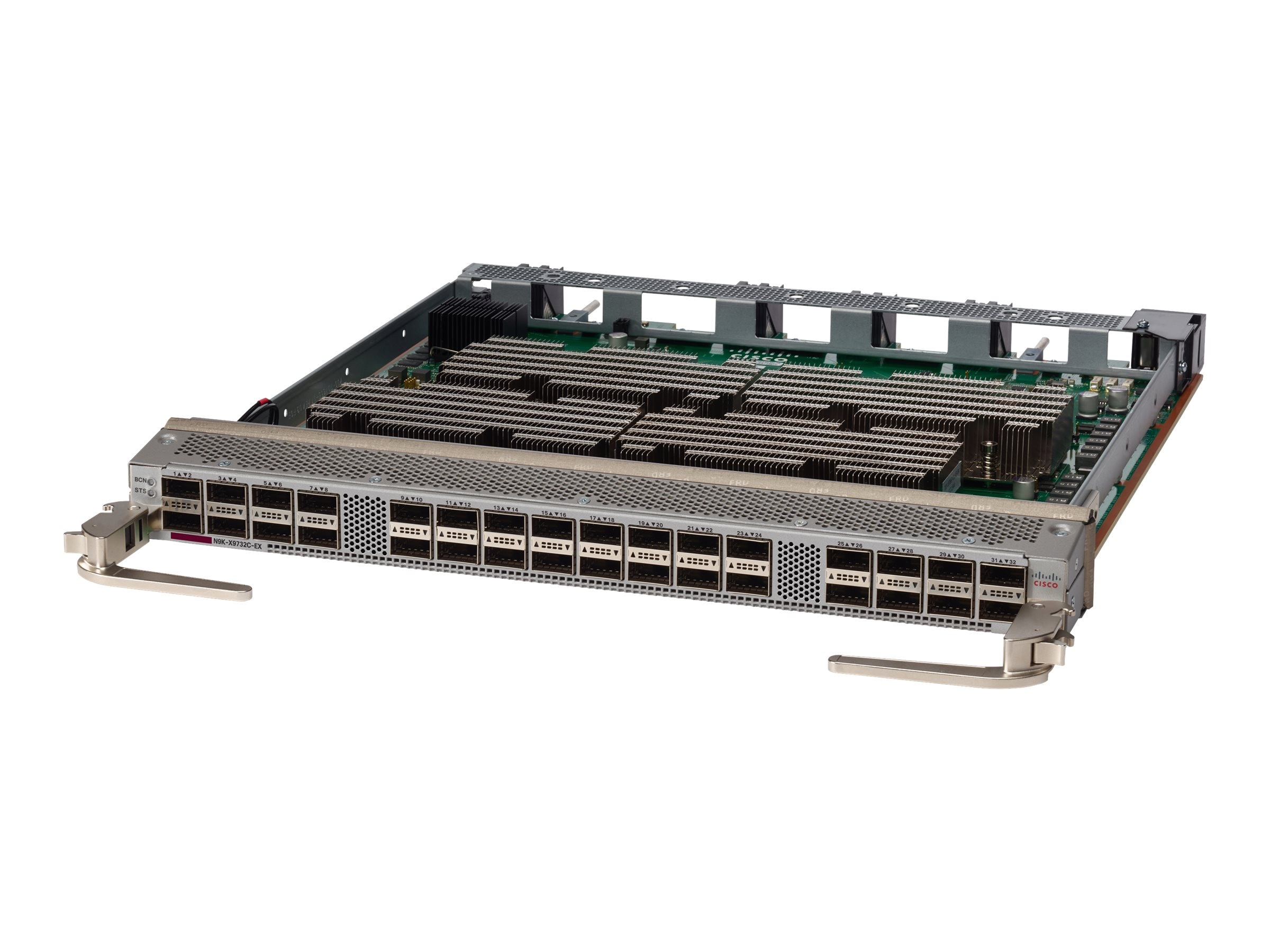 Cisco NEXUS 9500 32-port 40 100GbE QSFP28 Line Card, N9K-X9732C-EX
