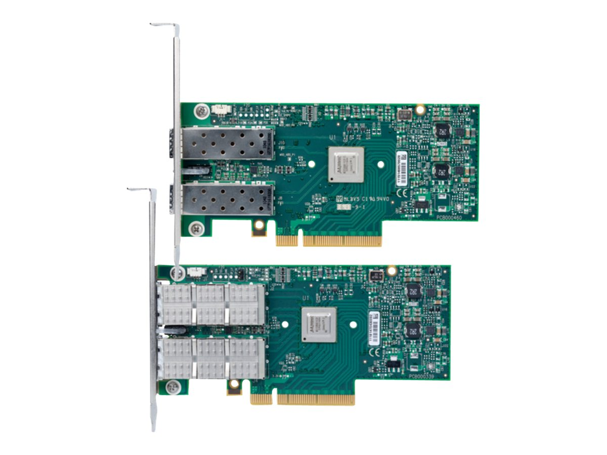Mellanox ConnectX-3 Ethernet Network Interface Card 10GBE PCIe 3.0 X8 8GT S 2 Port SFP+, MCX312A-XCBT