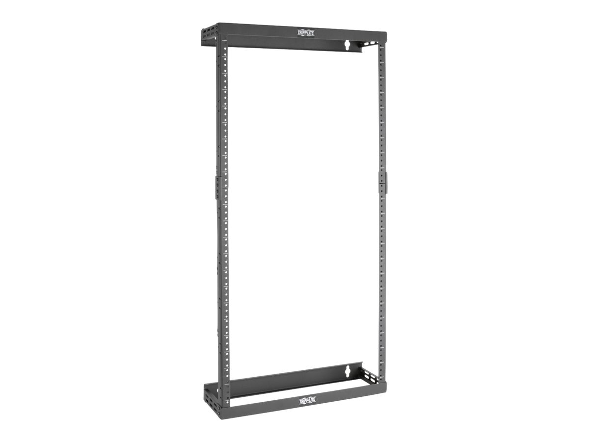 Tripp Lite SmartRack 8U 12U 22U Expandable Ultra Low-Profile Patch-Depth Wall-Mount 2-Post Open Frame Rack, SRWO8U22SD, 30737054, Rack Mount Accessories