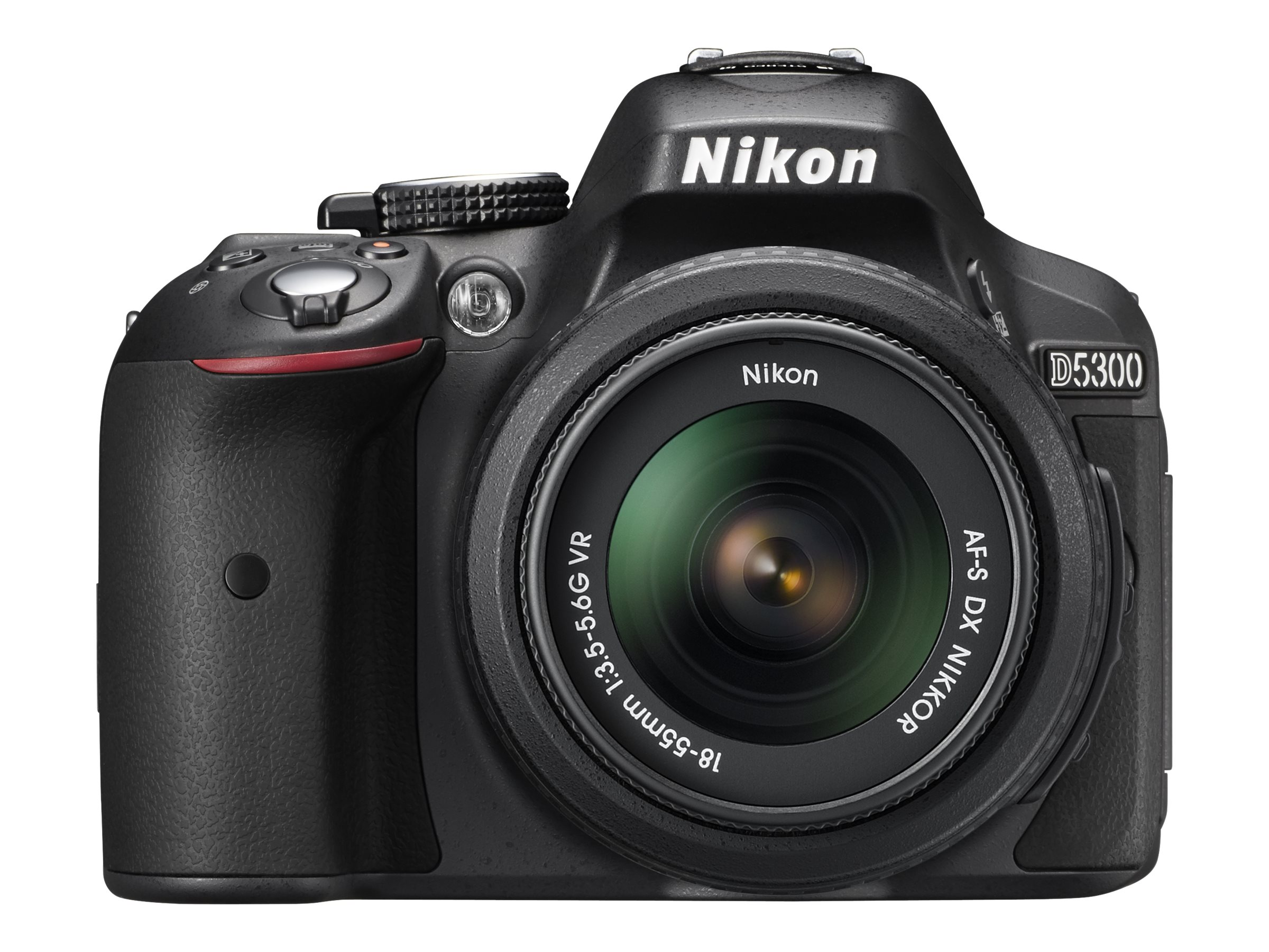 Nikon D5300 DX-Format Digital SLR Body only - Black, 1519