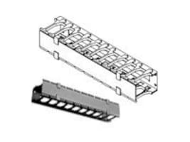 Chatsworth Horizontal Cable Manager 19 inch, 1U, 30139-719, 5087281, Rack Cable Management