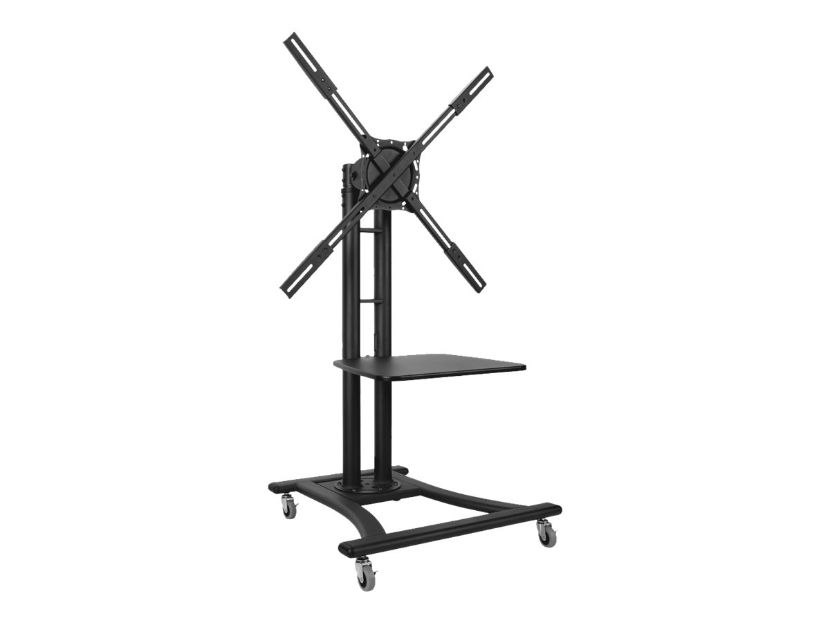 Atdec Telehook Mobile TV Cart with Shelf