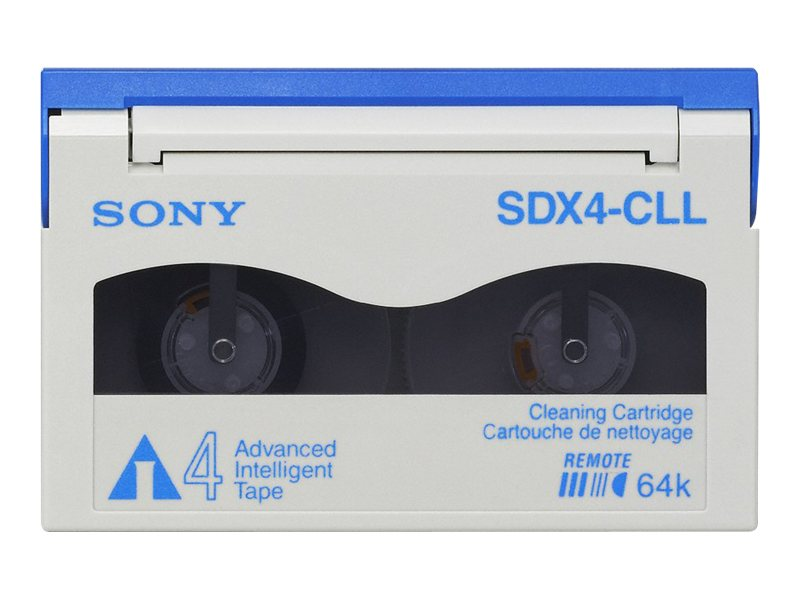 Sony AIT-4 Longer Length Cleaning Cartridge, SDX4CLLWW, 7033497, Tape Drive Cartridges & Accessories