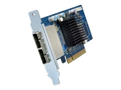 Qnap Dual-Port SAS 6Gbps Storage Expansion Card for Desktop, SAS-6G2E-D