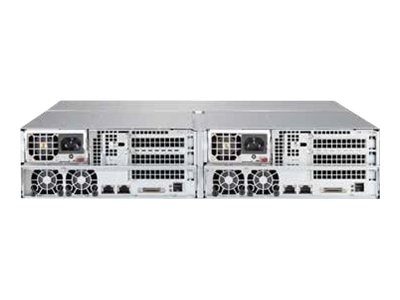 Supermicro SSG-2027B-CIB020H High-Performance 2U Cluster-in-a-Box (2x) HP Nodes (4x)Xeon E5-2403 v2 1.8GHz, SSG-2027B-CIB020H, 16961771, Servers - Blade