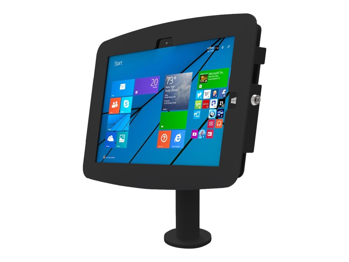 Compulocks Pole Counter Enclosure Kiosk for Surface 3