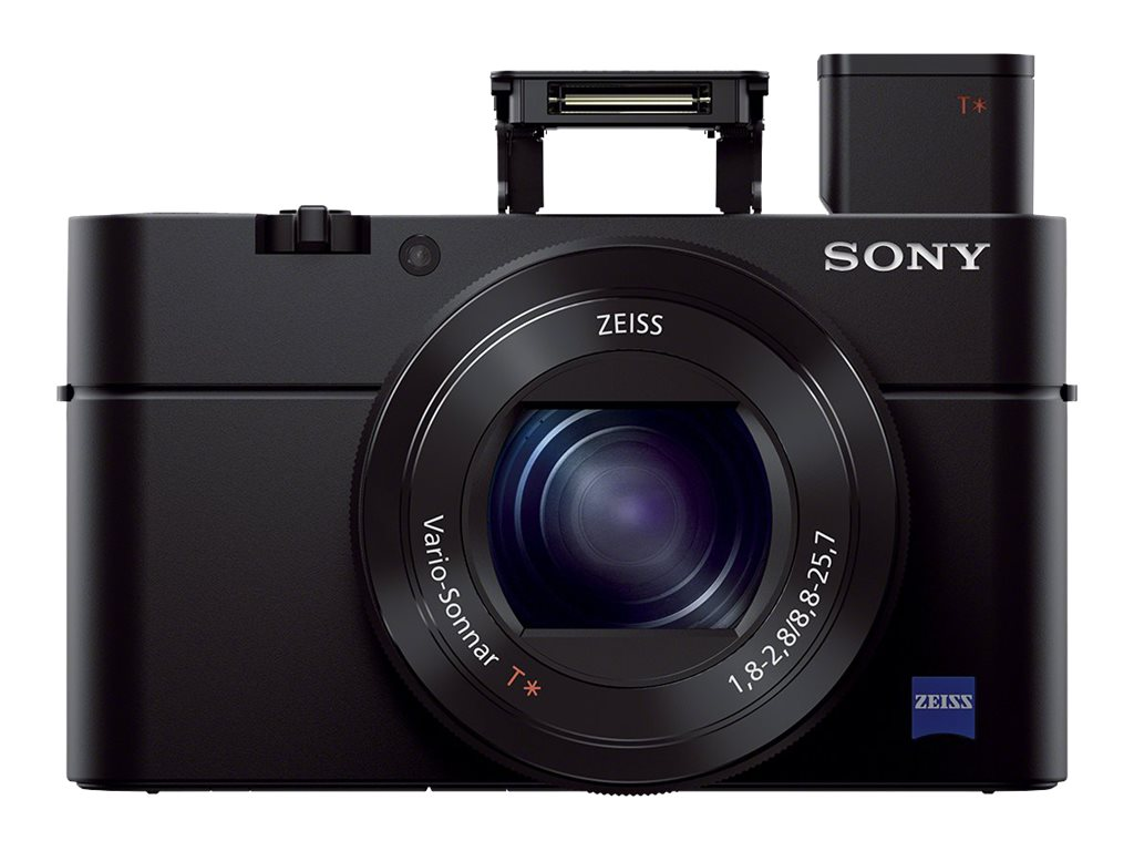 Sony Cyber-shot DSC-RX100 III Digital Camera, 20.1MP, Black, DSCRX100M3/B