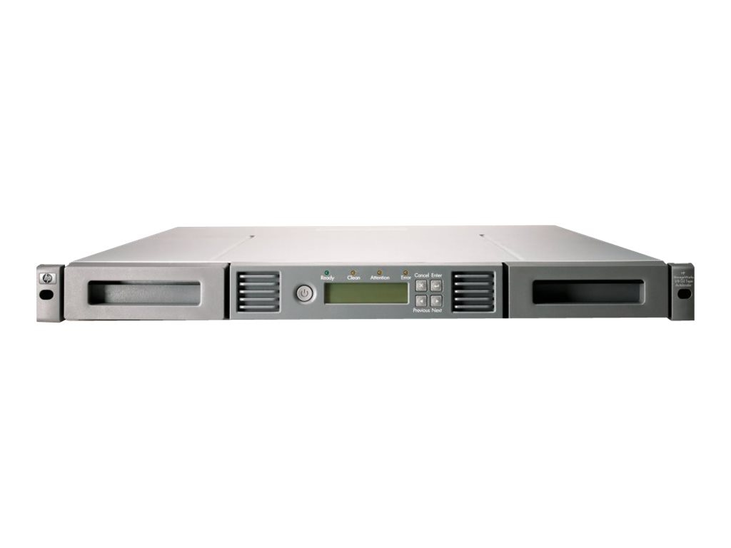 HPE StoreEver 1 8 G2 LTO-6 Ultrium 6250 SAS Tape Autoloader (Smart Buy Bundle), C0H18SB, 16244190, Tape Automation