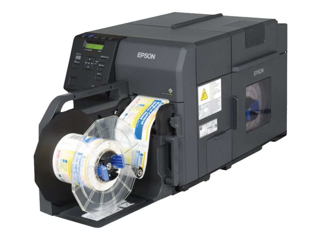 Epson Colorworks C7500 4- Inkjet Color Label Printer, C31CD84011, 20276952, Printers - Label