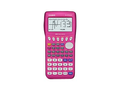 Casio Graphing Calculator - Pink, FX9750GII-PK