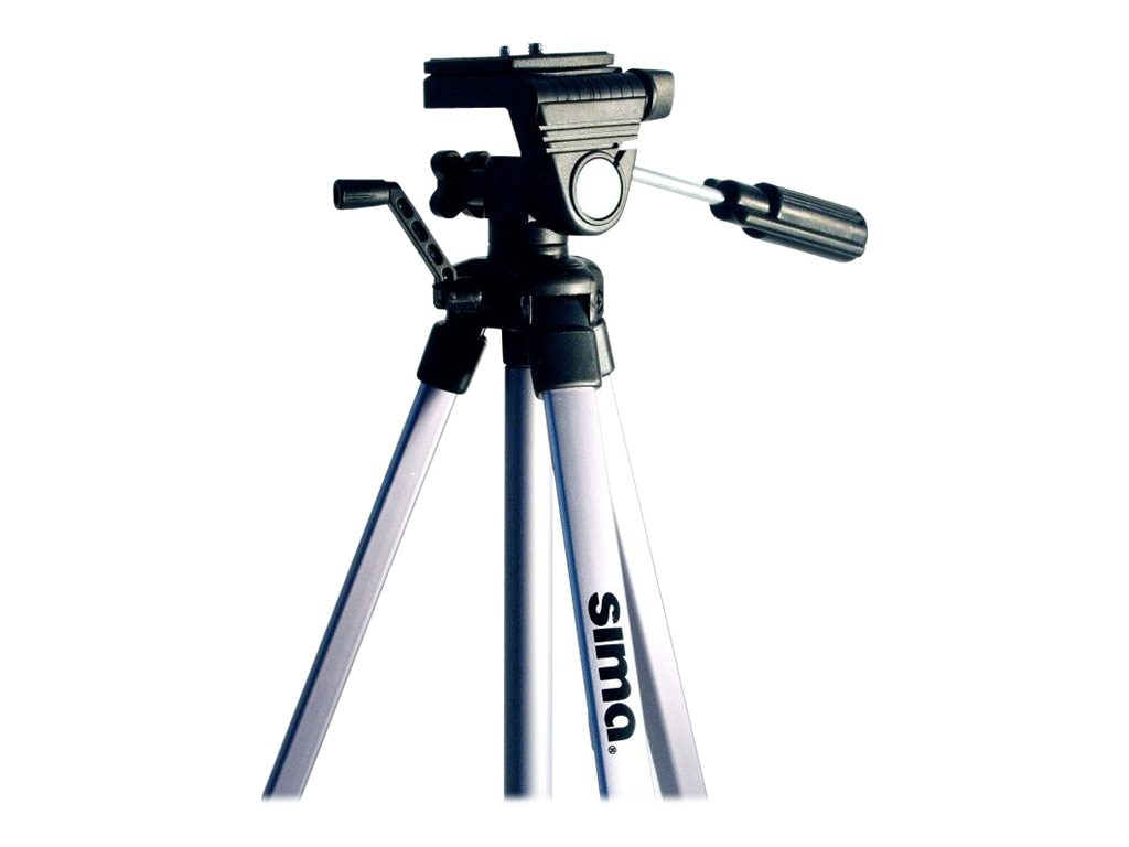Sima 54 Tripod with Bubble Level, STV-54K, 31064314, Camera & Camcorder Accessories