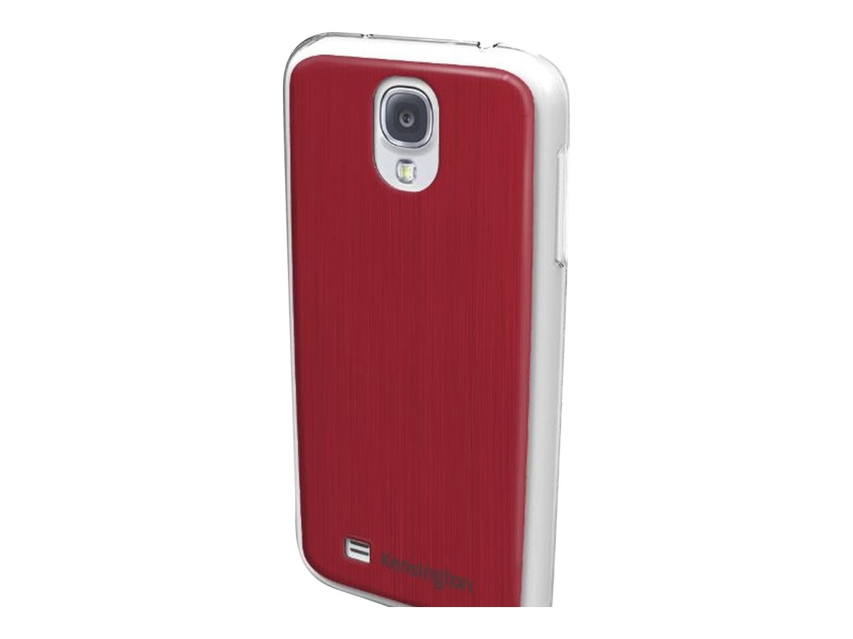 Kensington Aluminum Finish Case for Samsung Galaxy S 4, Red, K44418WW, 15728037, Carrying Cases - Phones/PDAs