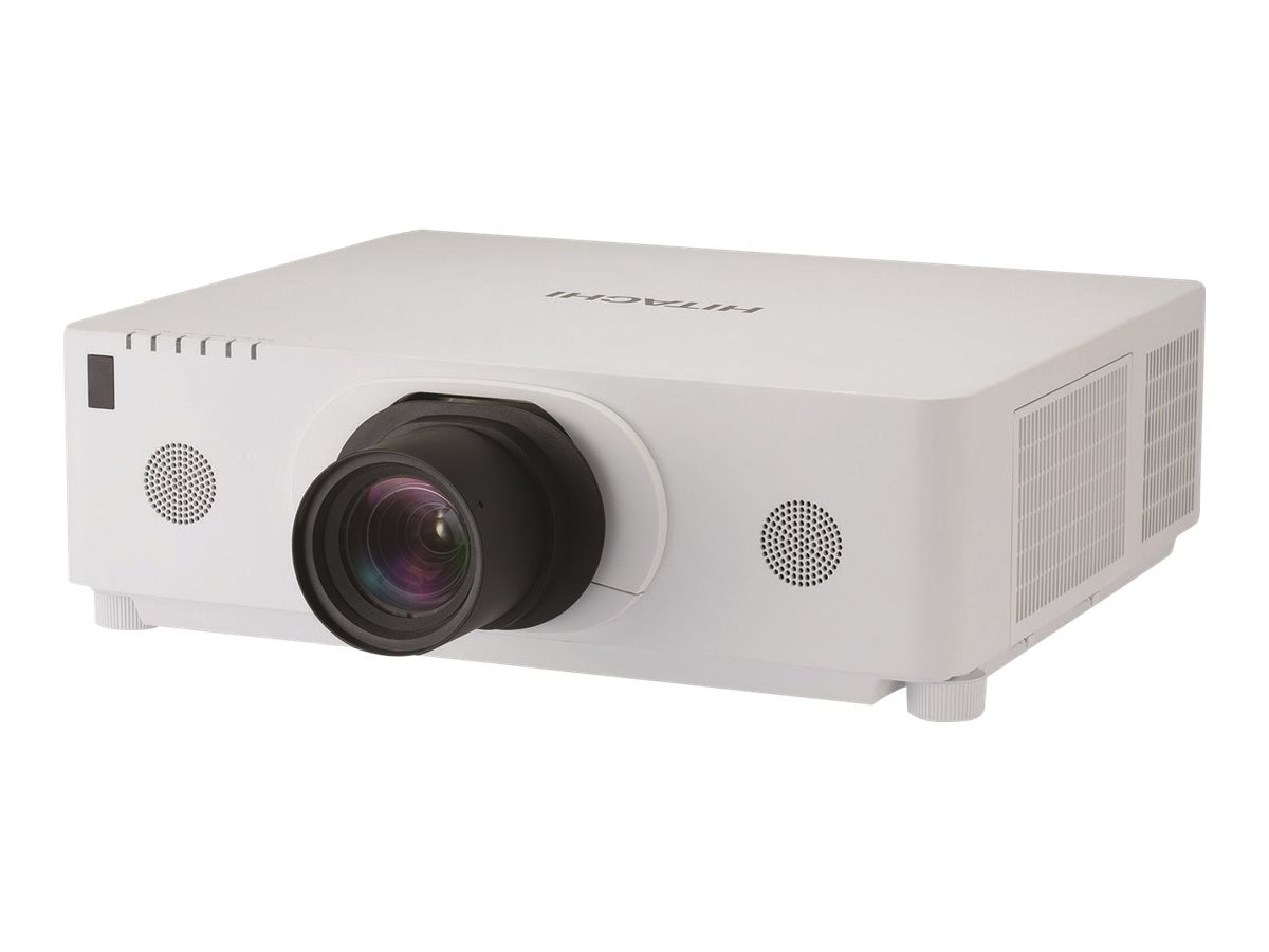 Hitachi CP-WU8600W WUXGA 3LCD Projector, 6000 Lumens, White with ML-713 Middle Throw Zoom Lens