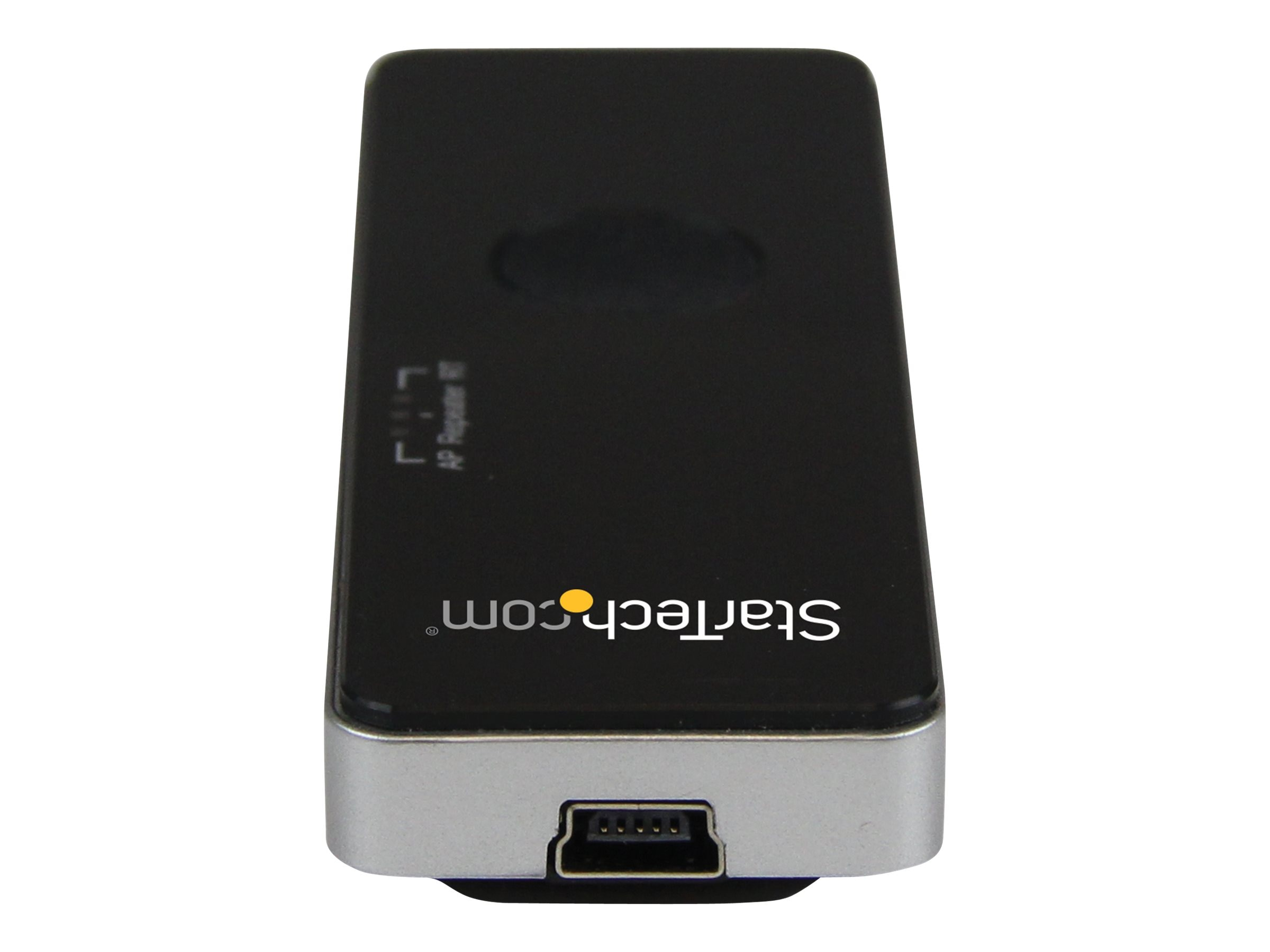 StarTech.com Portable Wireless N WiFi Travel Router Access Point Repeater, AP150WN1X1U