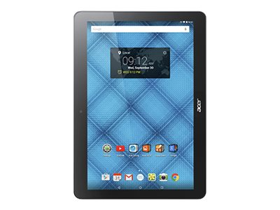 Acer Iconia B3-A10-K3BF MT8151 1.7GHz 1GB 32GB bgn BT WC 2C 10.1 WXHA MT Android 5.1 Black, NT.LB6AA.001, 30575391, Tablets