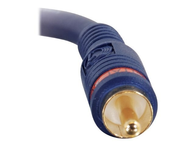 C2G Velocity RCA Digital Audio Cable, 12ft, 29116, 7480351, Cables