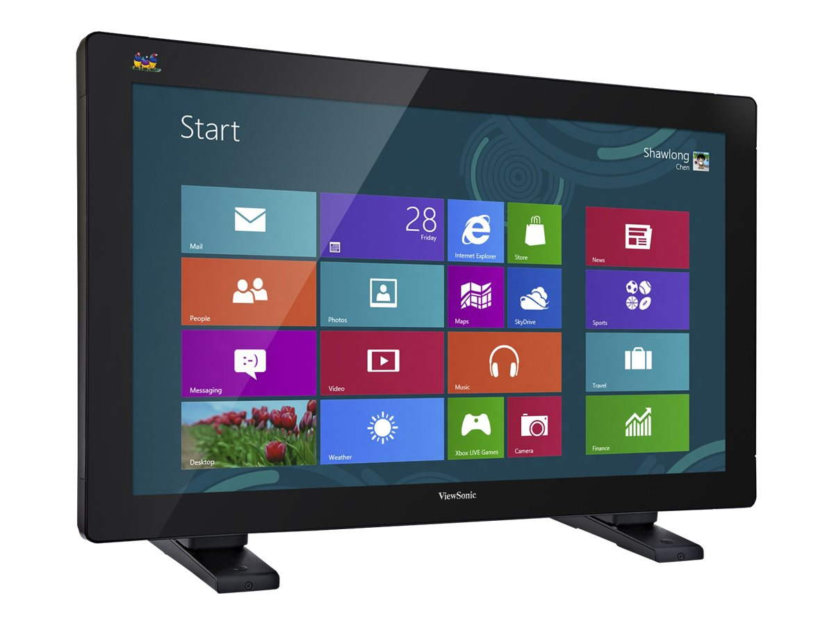 ViewSonic 32 TD3240 Multi-Touch Full HD LED-LCD Monitor, Black, TD3240