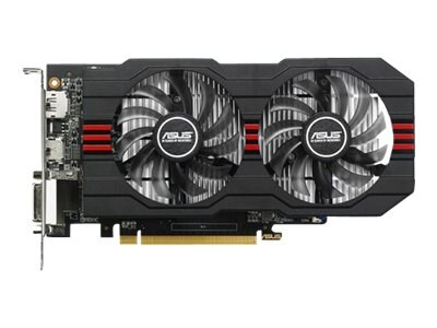 Asus Radeon R7 360 PCIe Overclocked Graphics Card, 2GB GDDR5, R7360-OC-2GD5