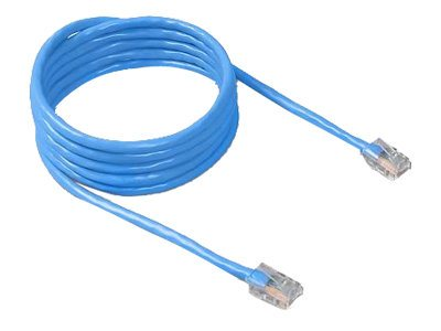 Belkin Cat5e Non-Booted UTP Patch Cable, Blue, 7ft, A3L781-07-BLU