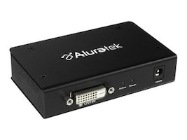 Aluratek 2-Port DVI Splitter, ADS02F, 9167915, Video Extenders & Splitters