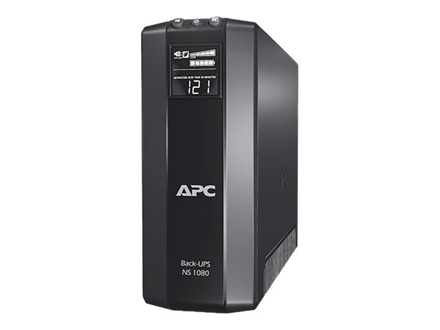 APC Back-UPS Pro NS Power Saving 1080VA 650W 120V Tower Line-Interactive UPS (8) Outlets USB, BN1080G