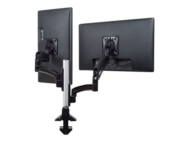 Chief Manufacturing Kontour K1C Dual Monitor Dynamic Column Mount, Reduced Height, Black, K1C220BXRH
