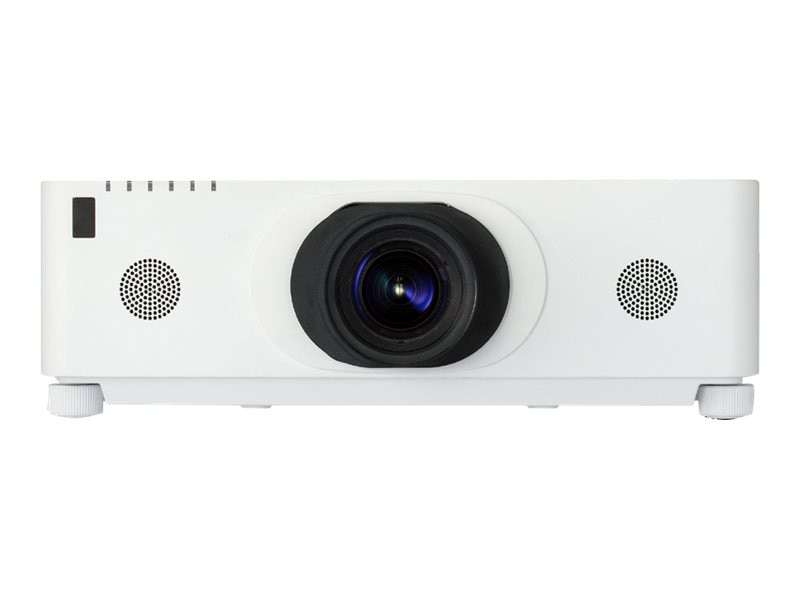 Hitachi CP-WU8600W WUXGA 3LCD Projector, 6000 Lumens, White with ML-713 Middle Throw Zoom Lens, CP-WU8600W-ML713